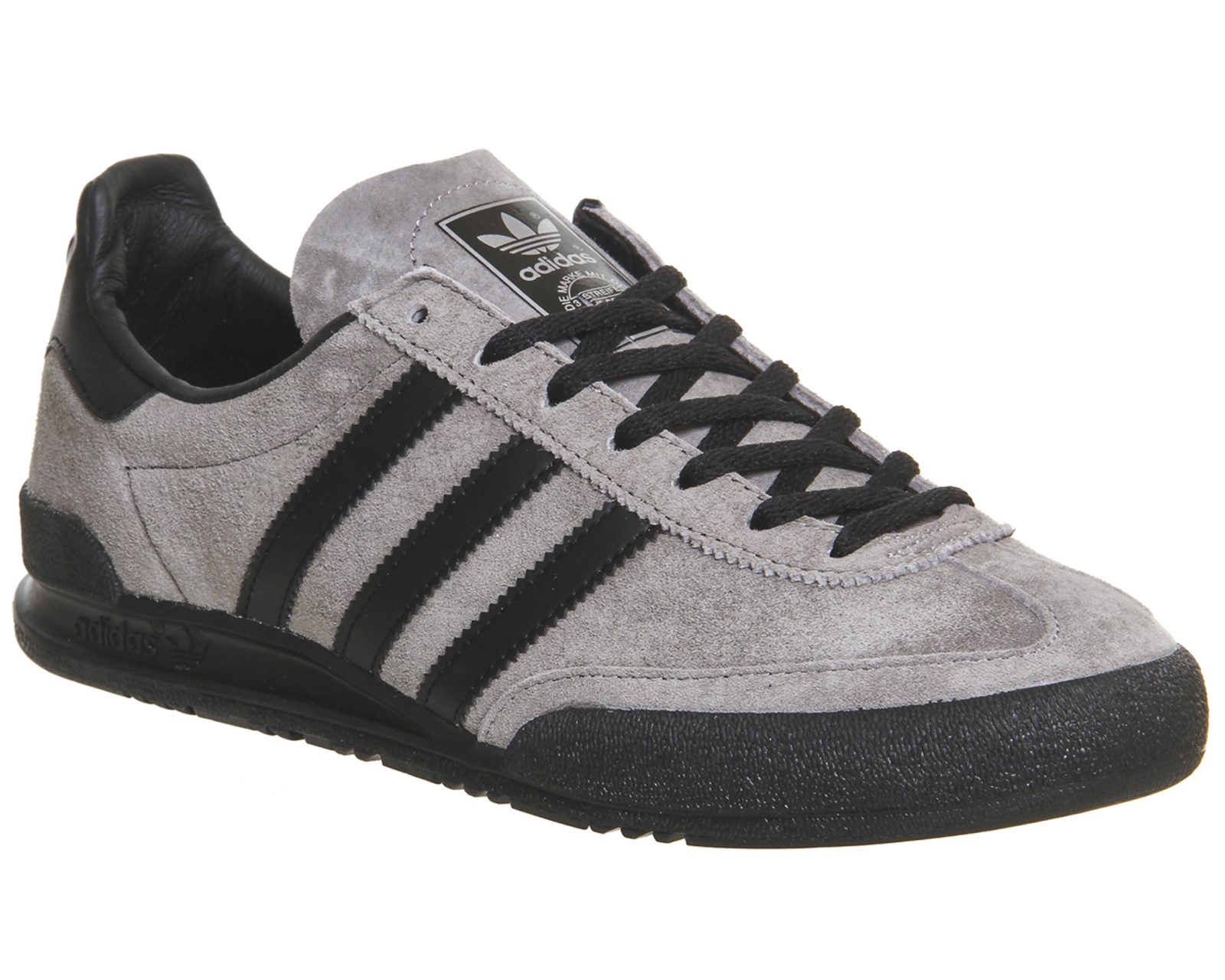 grey adidas trainers